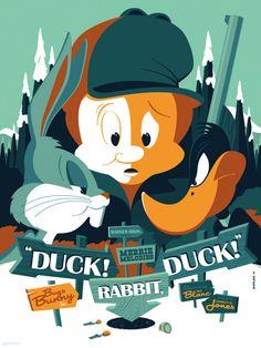 mondo: warner bros.: duck! rabbit, duck! (been waaay too long since i tumbld something.)