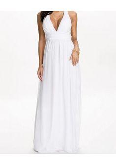 Empire Chiffon Maxi Dress |Clothes