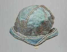 Child's cap, Damask, French, 18th century