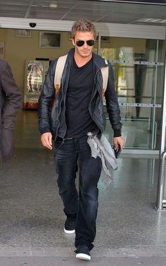 The style of David Beckham