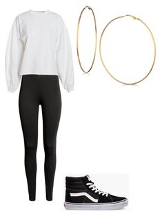 """Untitled #9"" by alaninaissant on Polyvore featuring NLY Trend, Vans and GUESS"