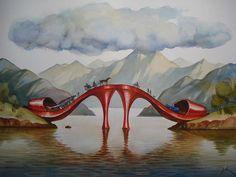 Surrealistic Paintings by Vladimir Kush