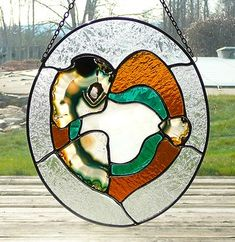 Agate Geode, Sun Catcher, Local Artists, Stained Glass, Glass Art, Arts And Crafts, Abstract, Agates, Shells