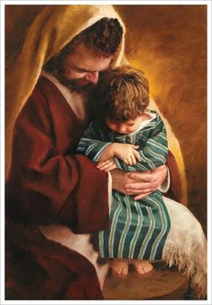 St Joseph and the child Jesus . God and Jesus Christ Pictures Of Christ, Religious Pictures, Religious Art, Lds Pictures, Temple Pictures, Immaculée Conception, Padre Celestial, Religion Catolica, Lds Art