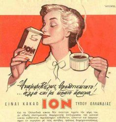 Vintage ad for cocoa ION.