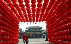 Libur Imlek Berakhir Arus Balik ke Beijing Mulai Ramai : Arus balik dari beberapa kota di Tiongkok dan mancanegara menuju Beijing menjelang berakhirnya liburan Imlek semakin ramai pada Minggu (14/2/2016).