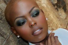 Smoky Green Eyes- Part 2: Foundation + Eyebrows (Intermediate)