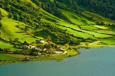 The field crops bordering to the Atlantic in the Azores Die Feldfrüchte grenzen an den Atlantik auf den Azoren Beautiful Places To Travel, Wonderful Places, Beautiful Scenery, Sea Activities, Felder, Beach Trip, Portuguese, Places Ive Been, The Good Place