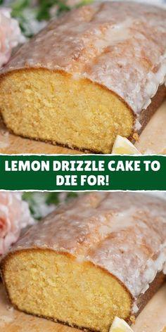 Mini Pie Recipes, Cake Mix Recipes, Pound Cake Recipes, Lemon Recipes, Sweet Recipes, Dessert Recipes, Cooking Recipes, Dessert Dishes, Desserts