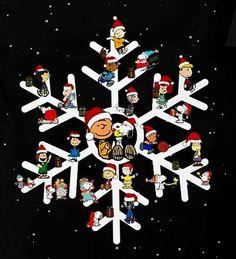 peanuts snowflake...i want one!!