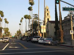 Downtown Riverside, California