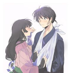 Beautiful ♡ Miroku and Sango ^.^ ♡ I give good credit to whoever made this