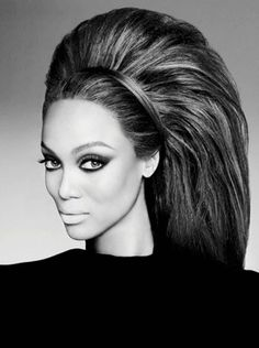 Tyra Banks turn up the volume