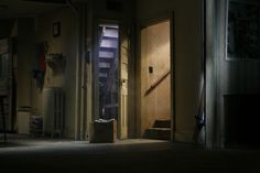 Production Still (The Father 01) 'Beneath the Roses' , 2007  by Gregory Crewdson  Photograph