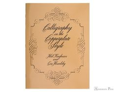 The copperplate style of calligraphy, characterized by thick downward strokes and hairline-thin upward strokes, is one of the most beautiful forms of this most beautiful art. The authors have taught copperplate calligraphy in many adult education courses