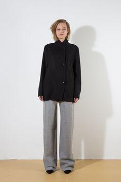 2019 Fw Damen Luxus Streifen 100/% Baumwolle Weiß Strickjacke Strickwaren