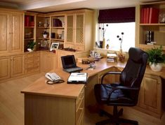 Remodeling Home Office with Contractor HK Construction Poway. Home Office Ideas. 5 Home Office Decorating Ideas Cozy Home Office, Home Office Storage, Home Office Space, Home Office Desks, Office Lounge, Office Cabinet Design, Small Office Design, Home Office Cabinets, Office Designs