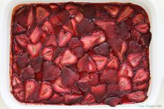Roasted Strawberry Topping