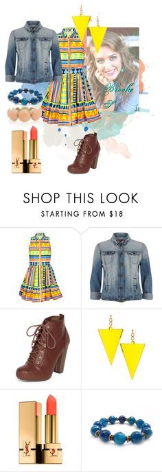 """""""Brooke S."""" by rossvanderh ❤ liked on Polyvore featuring MSGM, River Island, Dorothy Perkins, ASOS, Yves Saint Laurent and Oasis"""