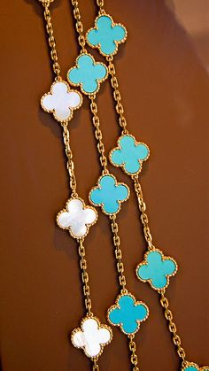 Great summer necklace-Van Cleef & Arpels