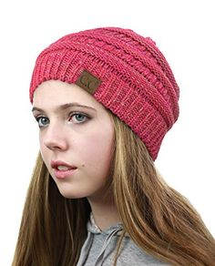 5a4d7aa8e21 Baggy beanie style for the comfortable look.