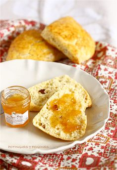 POTINGUES Y FOGONES: Scones con frutos secos
