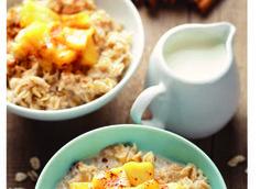 Appeltaart oatmeal - Amber Albarda