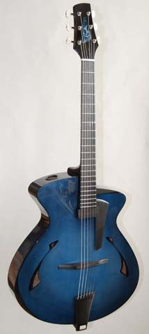 2011 Pagelli custom archtop for André Remund