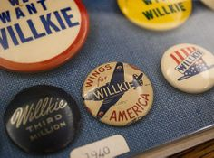 Awesome collection of old campaign buttons | Design*Sponge