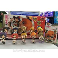 Gzltf new hot sale 8cm 10 Styles Q version LOVE LIVE action figue
