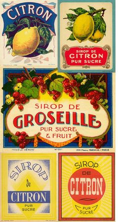 Vintage labels! love....