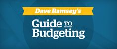 Not sure how to do a budget? Check out our free download: Dave's Guide to Budgeting
