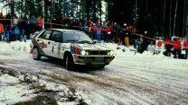Lancia Delta rally sweden 1988