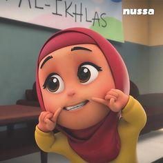 Hijab Cartoon, 3d Cartoon, Cartoon Characters, Fictional Characters, Foto Frame, 3d Character, My Images, Muslim, Logo Design