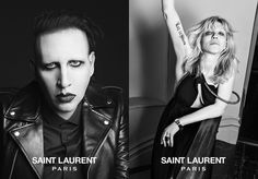 Marilyn Manson photos St. Laurent Courtney Love