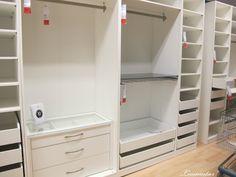 Walk-In Closet Sneak Peek | Wardrobe systems, Ikea pax wardrobe ...