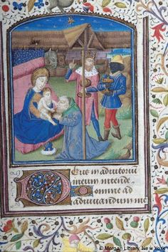 Book of Hours, MS M.28 fol. 60r - Images from Medieval and Renaissance Manuscripts - The Morgan Library & Museum