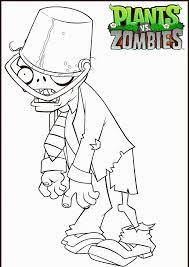 Hedendaags Afbeeldingsresultaat voor plant vs zombies kleurplaat (met QT-82