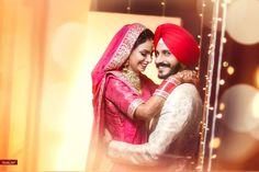 A stunningly beautiful young bride and groom in this photo by Gurinder Photography, Patiala #weddingnet #wedding #india #indian #indianwedding #ceremony #realwedding #bride #groom #indianweddingoutfits #outfits #photoshoot #photoset #hindu #photographer #photography #inspiration #gorgeous #fabulous #beautiful #colourful #bright #emotions #colors #colourful #bestmoments #smiles #weddingportraits
