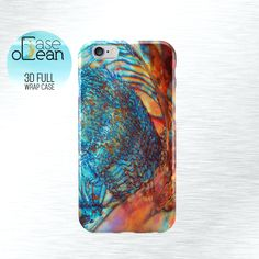 Abalone phone case, iPhone 6 6s 6 Plus phone case, iPhone 5 5s 5c 4 4s phone case, Samsung Galaxy S3 S4 S5 S6 orange abalone phone case by CaseOcean on Etsy