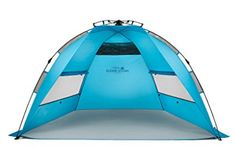 Beach Gear for Families: The Best Shade Tent for the Beach Camping Canopy, Beach Camping, Baby Beach Gear, Strand Camping, Shade Tent, Beach Shade, Instant Tent, Tent Reviews, Tent Design