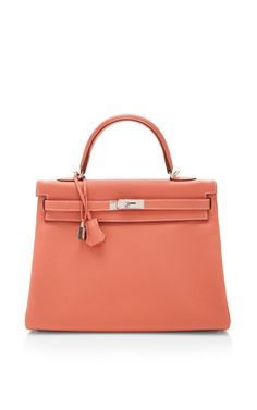 Hermes 35Cm Crevette Clemence Leather Retourne Kelly by Heritage Auctions Special Collections - Moda Operandi