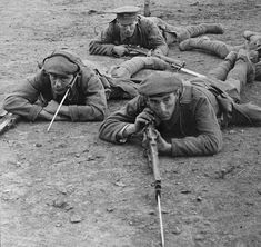 The History Place - World War I Timeline - 1916 - Scouting for Germans