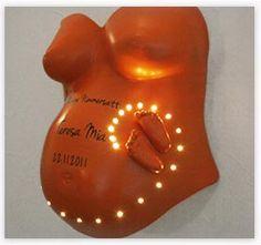 anleitung-gipsabdruck-babybauch-lampe-led