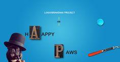 HappyPaws Logo Concept on Behance