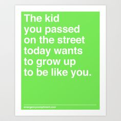 That Kid Art Print by Emergency Compliment - $14.56