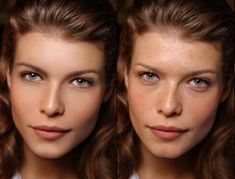 Perfection is never real: 60 Photoshop Before-and-Afters --well many of them they are much much beautiful before the photoshop