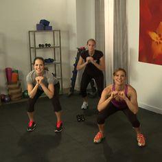 10-Minute Bikini Body Workout. i like how it works your whole body.