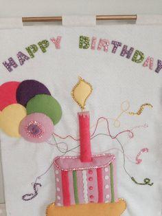 Personalized Girl Birthday Countdown Calendar by JillianBCreations