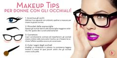 Indossi gli occhiali? Ecco come truccarti! http://www.vanitylovers.com/?utm_source=pinterest.com&utm_medium=post&utm_content=vanity-home&utm_campaign=pin-mitrucco